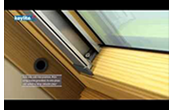 An animated guide to installing your Keylite roof window blind