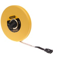Stanley  Closed Case Fibreglass Measuring Tape - 30m