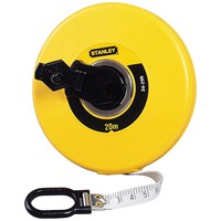 Stanley  Closed Case Fibreglass Measuring Tape - 20m