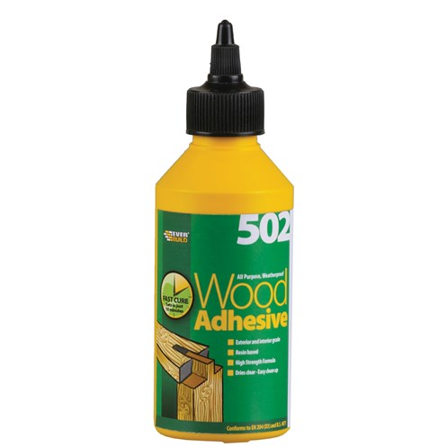 Everbuild  All Purpose Wood Adhesive Bottle - 250ml