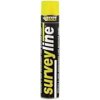 Everbuild  Surveyline Paint 700ml - Yellow