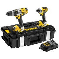 Dewalt  DCK290M2 XR Li-ion Combi Drill & Impact Driver Twin Pack Kit - 18V