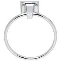 Tema Roma Towel Ring - Chrome