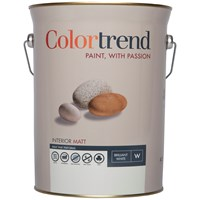 Colortrend  Interior Matt Pure Brilliant White Paint - 5 Litre