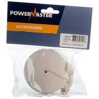 Powermaster  2 Way Pull Cord Switch - 6 Amp