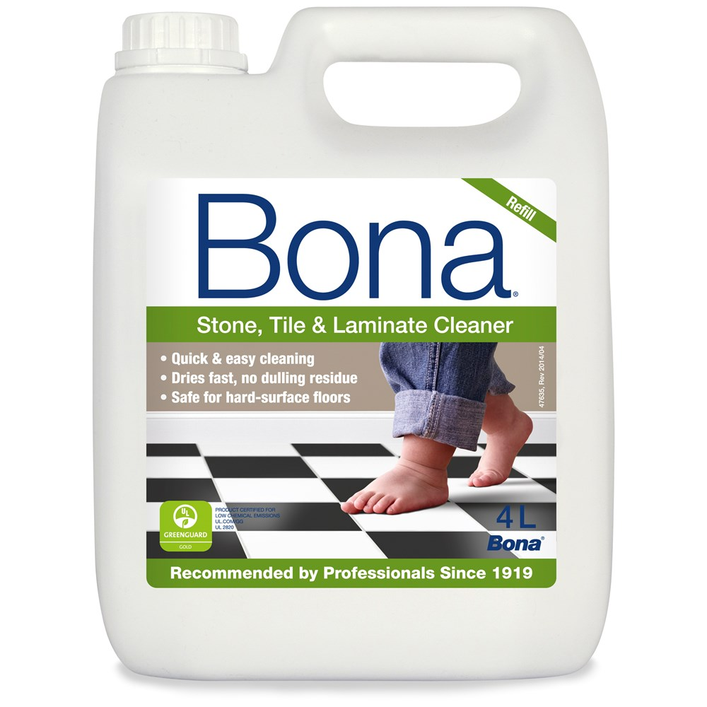 Bona Stone Tile Laminate Floor Cleaner Refill 4 Litre
