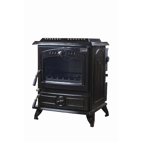 Blacksmith Forge 16kW Non Boiler Stove - Black Enamel